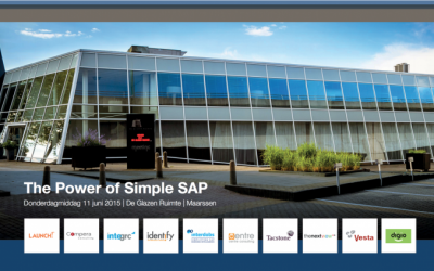 (Nederlands) TFA Event 11 juni '15 – Live demo's Ariba Upstream en SAP Procurement met Fiori Launchpad