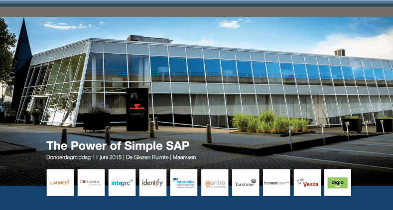 TFA Event 11 juni '15 – Live demo's Ariba Upstream en SAP Procurement met Fiori Launchpad