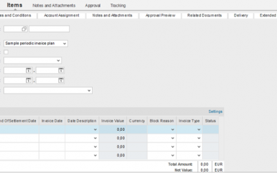 Invoice Payment Plans available in SAP SRM