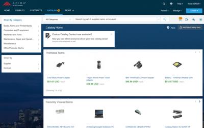 New in ARIBA: Promoted Catalog Items