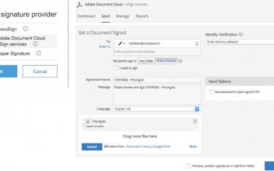 SAP Ariba Contracts digital signature